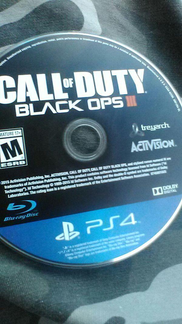 CALL OF DUTY BLACK OPPS 3