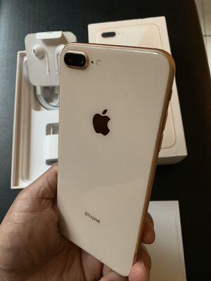 iPhone 8 Plus rose gold 64gb for TMobile or metro pcs for Sale in Montebello, CA