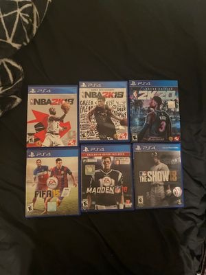 Sports Games for Sale in Los Angeles, CA