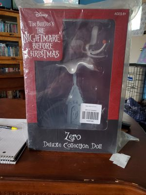 Nightmare Before Christmas Zero Collection Doll for Sale in St. Petersburg, FL