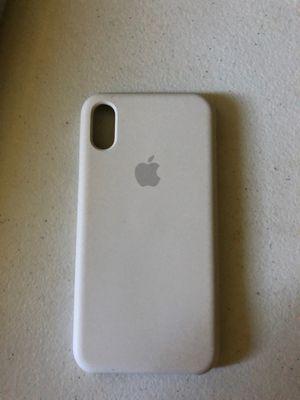 Apple white silicon case iPhone X,11 for Sale in Detroit, MI