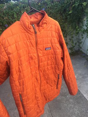 Orange Patagonia Puffer Down Jacket for Sale in Albany, CA