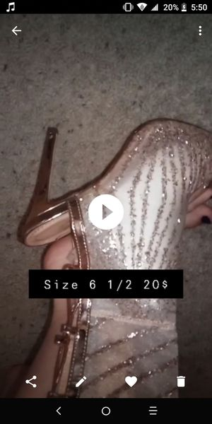 20$ stripper thigh high boots heels for Sale in Carrollton, TX