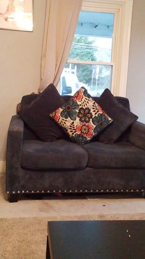 Sofa love seat navy blue for Sale in Annandale, VA