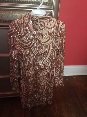 Rose gold sequin Dress for Sale in East Cleveland, OH