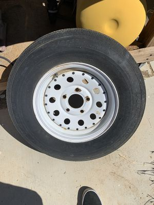 I need 4 trailer tires must be rated for a trailer for Sale in Victorville, CA