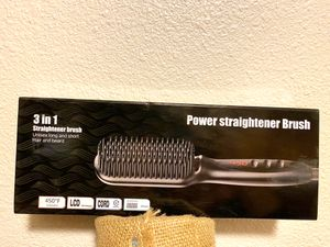 Hair straightener brush new for Sale in Santee, CA