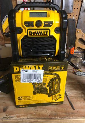 dewalt work radio for Sale in Lacey, WA
