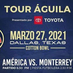 AMERICA VS MONTERREY TICKETS for Sale in Lewisville,  TX