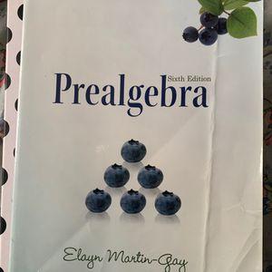 Pre-algebra textbook 6th Edition for Sale in Oakland, CA