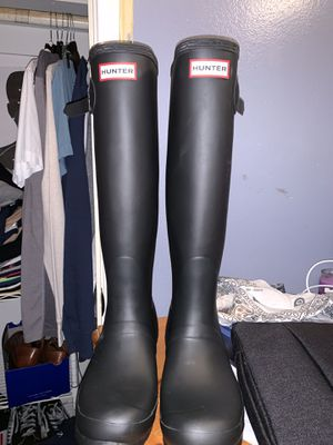 Hunter Black Rain Boots for Sale in Corona, CA