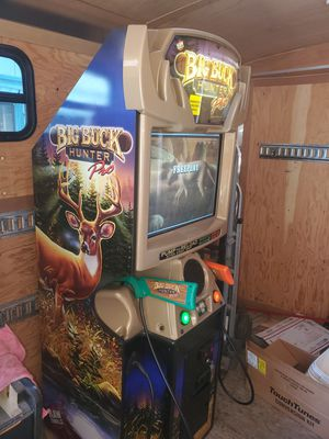 Big buck pro arcade game (mint condition) for Sale in Portland, OR