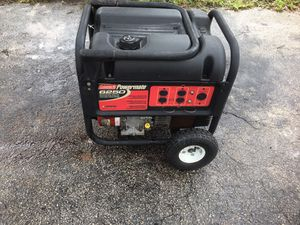 MUST SEE GENERATOR- 6250 WATTS [Brand: Coleman Powermate] $425 OR BEST OFFER for Sale in Miami, FL
