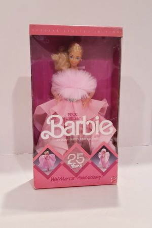 1987 Pink Jubilee Barbie 25 yr Walmart Anniv. for Sale in Buena Park, CA