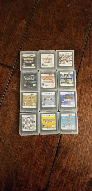 Nintendo ds games pokemon mario for Sale in Westminster, CA