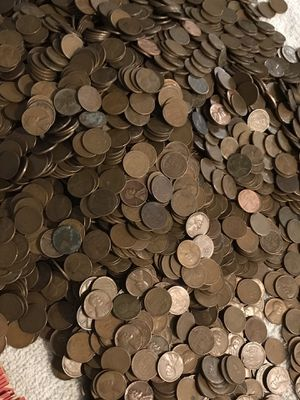 Wheat penny rolls for Sale in Chandler, AZ