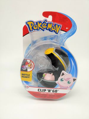 Pokemon Clip N Go Jigglypuff + Luxury Ball for Sale in Vallejo, CA