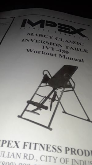 INVERSION TABLE for Sale in Greenville, MS
