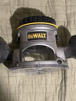 Fixed Router Base For Dewalt Dw617 Dw618 for Sale in Oakland,  CA