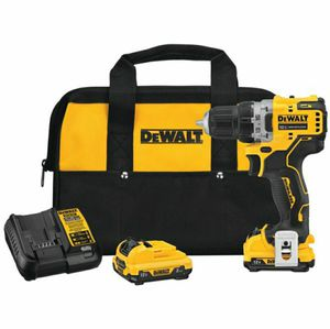 DEWALTXTREME 12-Volt Max 3/8-in Brushless Cordless Drill (Charger Included and 2-Batteries Included) for Sale in Stickney, IL