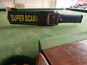 Súper scanner metal detector for Sale in Kissimmee, FL