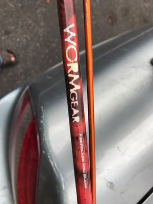 Worm gear Fiber glass rod and Okuma reel brand new for Sale in Seattle, WA