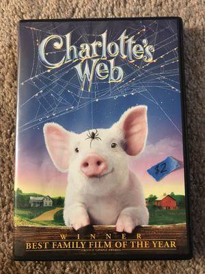 2006 Charlotte's Web DVD for Sale in Pleasant Hill, CA