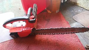 Older all steal Homelite chain saw for Sale in Borger, TX