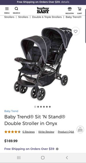 Baby trend sit and stand double stroller for Sale in Chandler, AZ