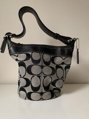 Authentic Monogram Coach Bucket Handbag for Sale in Arlington, VA