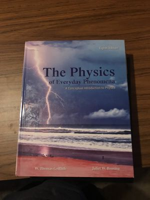 The Physics of Everyday Phenomena for Sale in Neosho, MO