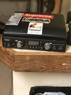 Jensen JTA-460 3-Speed Stereo Turntable with MP3 Encoding System and AM/FM Stereo Radio for Sale in Glen Burnie, MD