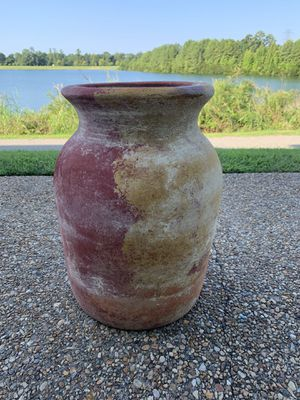 Extra large clay flower pot for Sale in Suffolk, VA