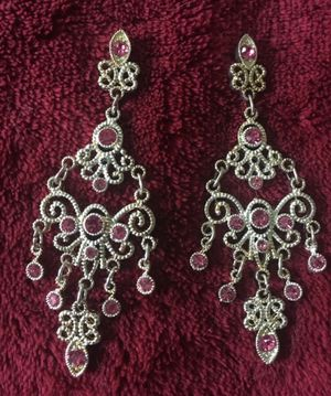 Beautiful, vintage chandelier earrings for Sale in Midlothian, VA