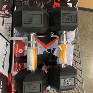 15lb Dumbells Pair for Sale in Chico, CA