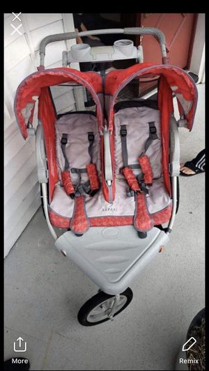 Double stroller used like new for Sale in Jersey City, NJ