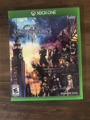Kingdom Hearts 3 Xbox One for Sale in Queen Creek, AZ