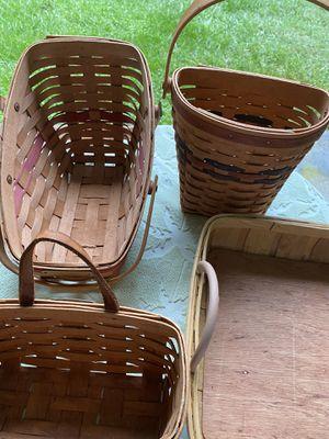 3 longaberger basket for Sale in Silver Spring, MD