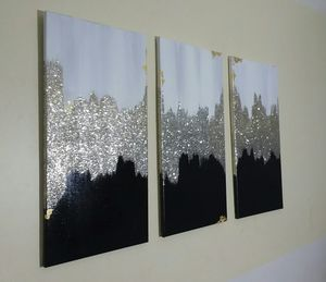 3 piece home decor set wall pictures for Sale in Smyrna, GA