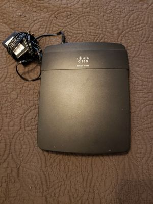 Linksys E1200 Wireless N Router for Sale in Owings Mills, MD