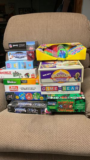 BEST OFFER!!Board Games, Puzzles, and never opened tie dye kit. for Sale in McKnight, PA