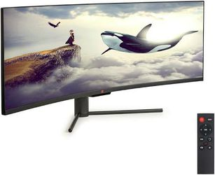 """Deco Gear 43"""" Curved Ultrawide E-LED Gaming Monitor for Sale in Chandler,  AZ"""