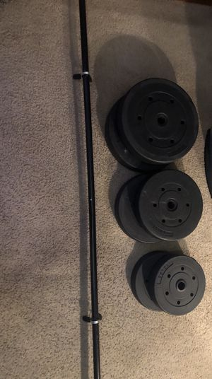 100 pound weight set for Sale in Fresno, CA