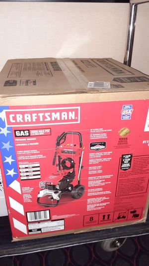 Gas Powered pressure washer *** new never used for Sale in Newark, CA