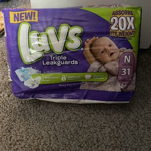 Luvs Newborn Diapers for Sale in Inman, SC