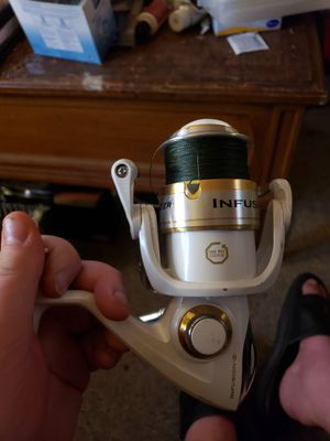 Pflueger infusion 7650ss fishing reel for Sale in Worcester, MA