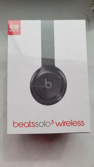Brand New in Box- Beats Solo3 Wireless Headphones for Sale in Spring Valley, CA