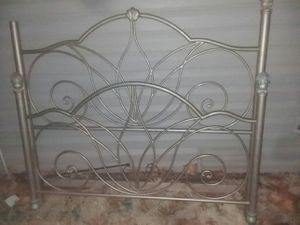 beautiful metal bed frame for Sale in Columbia, MO