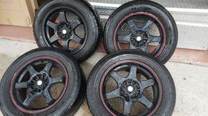 Universal 5 lug Rim's/Tires 16 inch for Sale in Valrico, FL