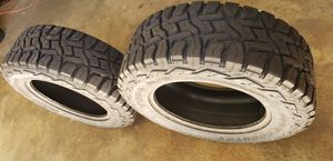 💢💥TOYO OPEN COUNTRY RT 35'S TIRES, SET OF TWO LT35X12.50R20 💥💢 for Sale in Houston, TX